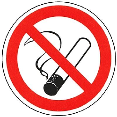 Kleber - Rauchen verboten