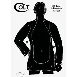Scheibenbild  Colt 50 feet
