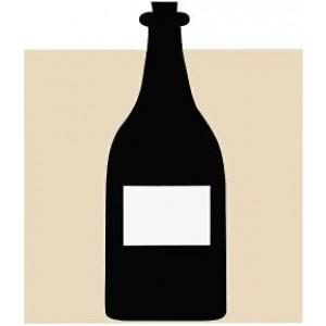 Scheibenbild Flasche
