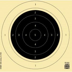 Gewehrscheiben 50 m, 5er SSV