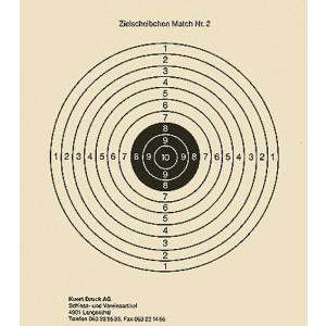 Zielscheibe Nr. 2, Match