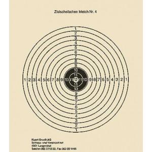 Zielscheibe Nr. 4, 12er Scheibe