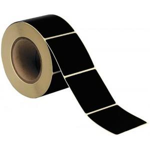 Rolle Selbstkleber Magnum schwarz, 40 x 40 mm
