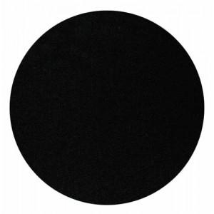 Zentrumersatz-Rondelle aus schwarzer Folie, Ø 40 cm