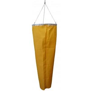 Windsack klein orange (Windanzeige beim Scheibenstand)