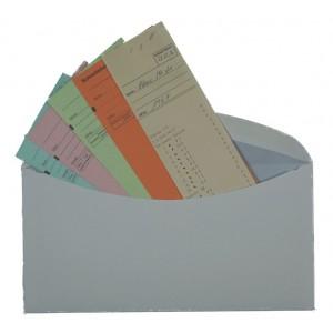 Kuverts für Standblattkarten