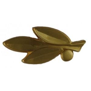 Bandaufsatz-Zweig vergoldet