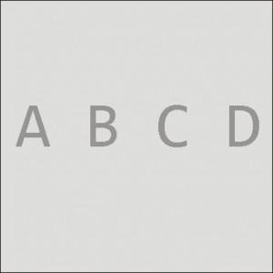 Buchstaben, Diamant-Glanzstich auf Gläser