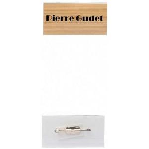 Kongress-Abzeichen, 60 x 30 mm, mit Sicherheitsnadeln