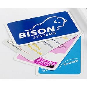 Jass-Reklamespielkarten Qualität B, Werbeaufdruck 1-farbig